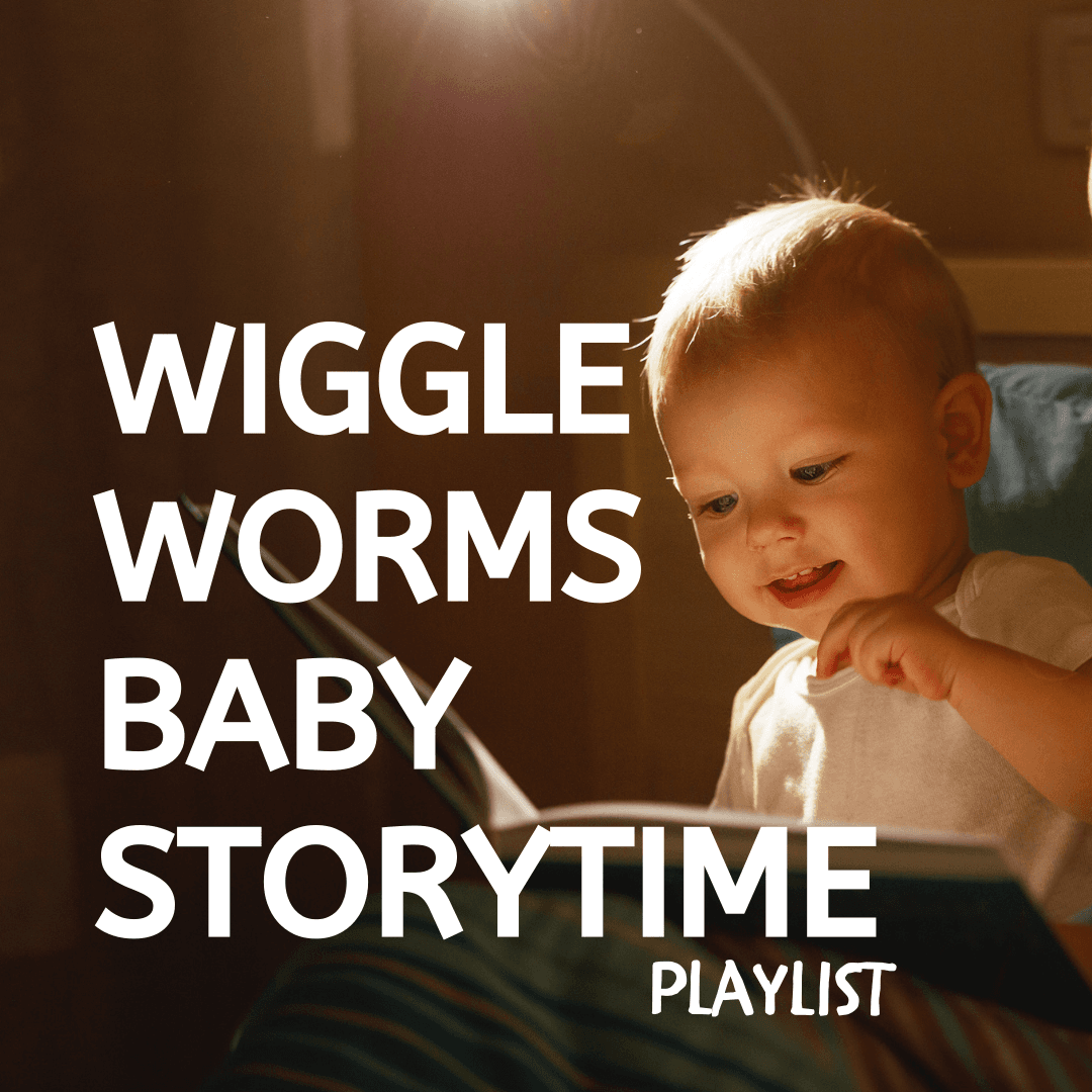 Wiggle Worms Baby Storytime Square Video Playlist Button