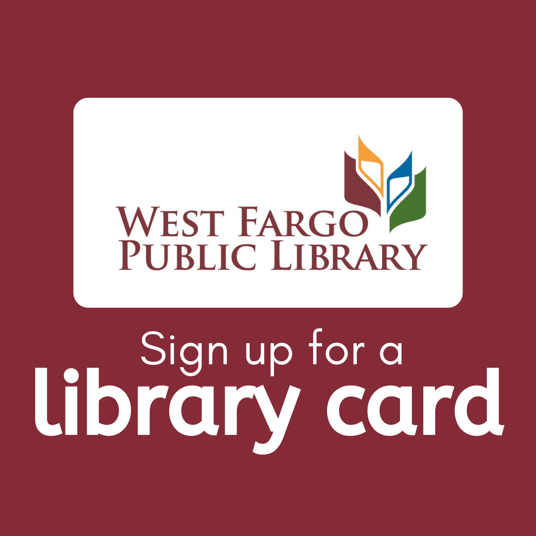 Click here to sign up for a Library Card